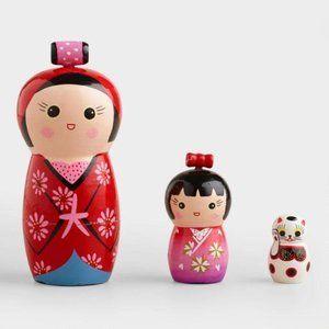 Kokeshi Matryoshka Japanese Nesting Doll